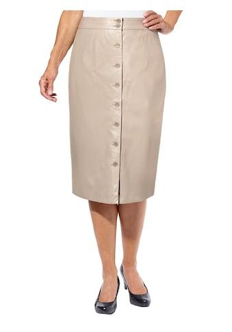 Lady Lederimitatrock kaufen