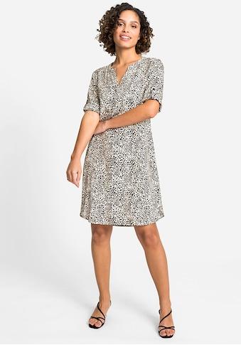 Olsen Sommerkleid, mit Leopardenprint kaufen