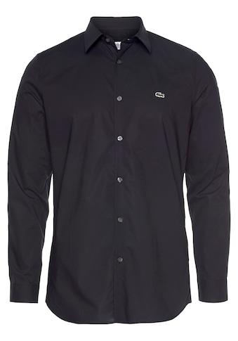 Lacoste Langarmhemd, Popeline kaufen