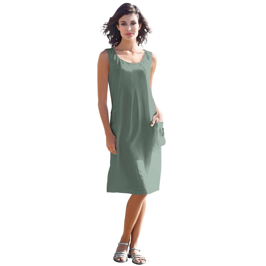 LINEA TESINI by Heine Sommerkleid, mit aufgesetzten Ballontaschen