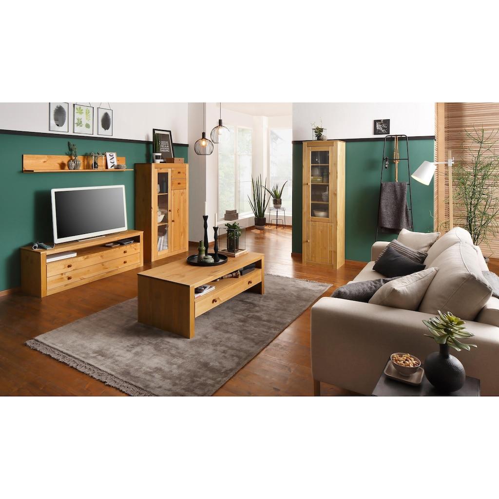 Home affaire Lowboard »Agave«, aus massiver Kiefer, Fernsehtisch