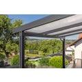 GUTTA Terrassendach »Premium«, BxT: 309x306 cm, Dach Polycarbonat Opal