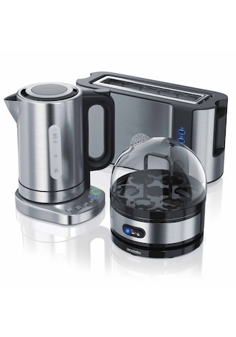 Arendo Frühstücks Set 3-teilig in Edelstahl Optik kaufen