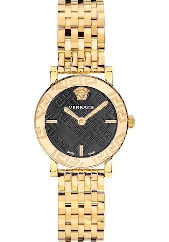 Versace Schweizer Uhr »GRECA GLASS, VEU300621« kaufen