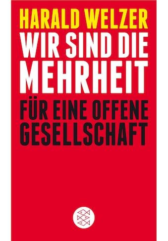 Buch »Wir sind die Mehrheit / Harald Welzer« kaufen