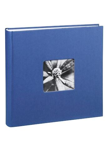 Hama Jumbo Fotoalbum 30 x 30 cm, 100 Seiten, Album, Blau »Photobuch zum Einkleben« kaufen
