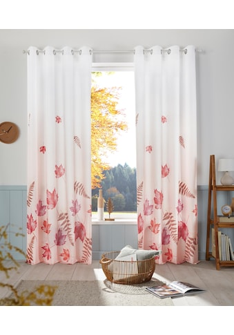 Vorhang, »Farn«, my home, Ösen 1 Stück kaufen