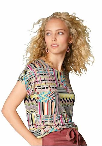 MYBC Rundhalsshirt »mit überschnittener Schulter« kaufen