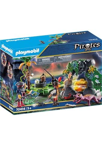 Playmobil® Konstruktions-Spielset »Piraten-Schatzversteck (70414), Pirates«, ; Made in Germany kaufen