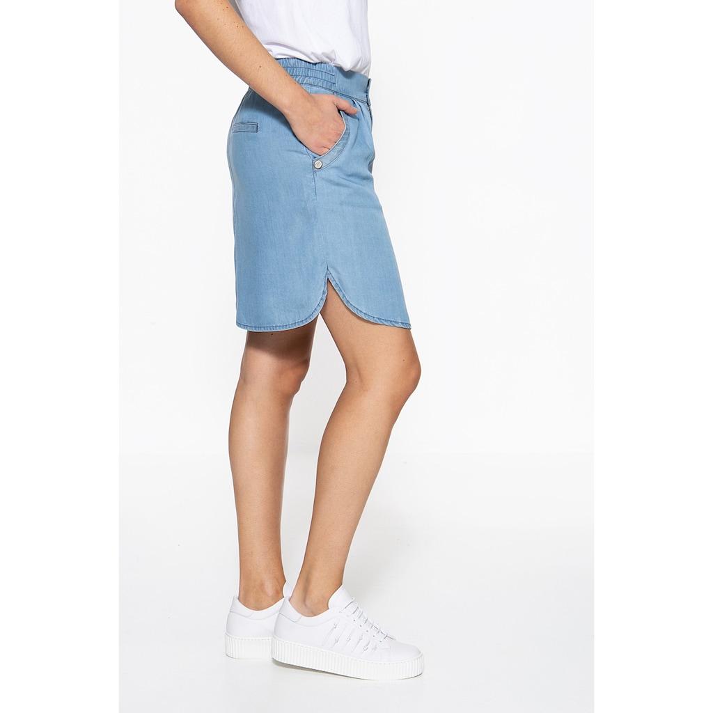 ATT Jeans Minirock »Ava«, mit Sandwash-Effekt