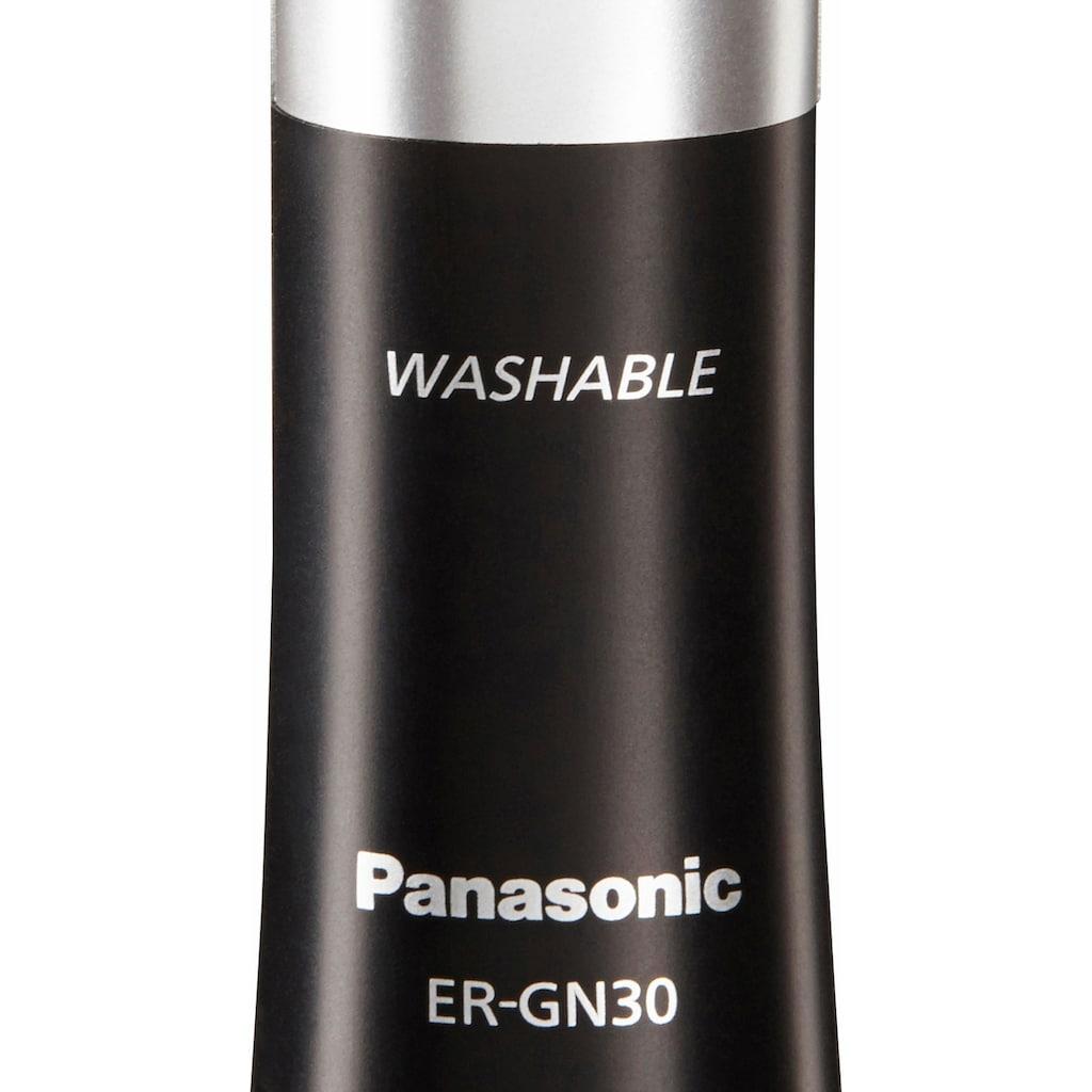 Panasonic Nasen- und Ohrhaartrimmer »ER-GN30-K503«, Präziser Cut für gepflegtes Aussehen
