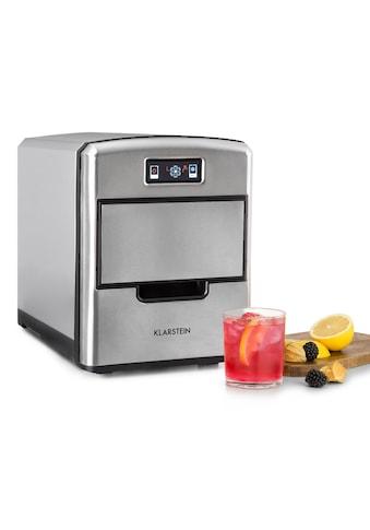 Klarstein Kompakte Eiswürfelmaschine 12kg/24h digitales Display »Metropolitan« kaufen