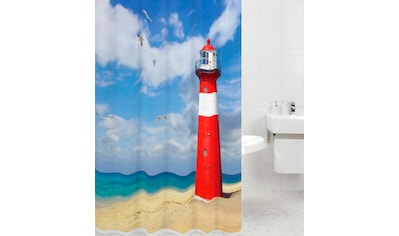Sanilo Duschvorhang »Leuchtturm«, Breite 180 cm, Höhe 200 cm kaufen