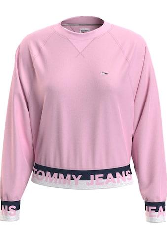 TOMMY JEANS Sweatshirt »TJW BRANDED HEM SWEATSHIRT« kaufen