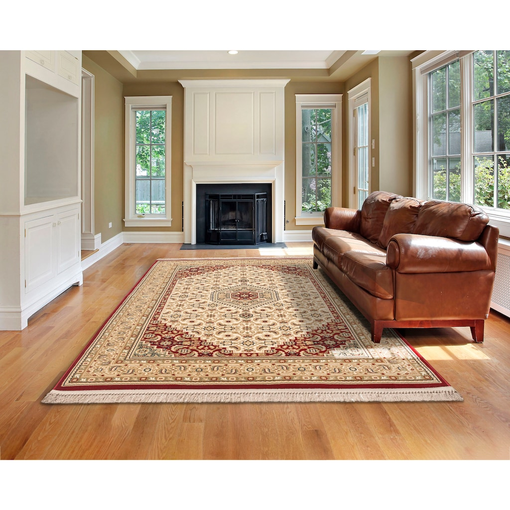 Home affaire Teppich »Kassandra«, rechteckig, 9 mm Höhe, Orient - Dekor, Wohnzimmer