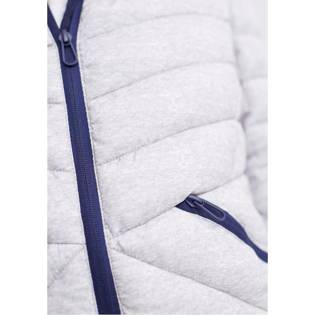 Superdry Steppjacke »LS ESSENTIALS HELIO PADDED JACKET«, mit figurschmeichelnder V-Steppung & weichem Sweatinlay