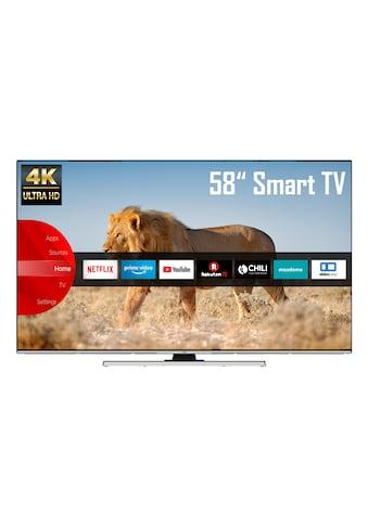 JVC LT - 58VU8055 LED - Fernseher (146 cm / (58 Zoll), 4K Ultra HD, Smart - TV kaufen