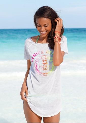 Venice Beach Longshirt, mit Frontprint kaufen