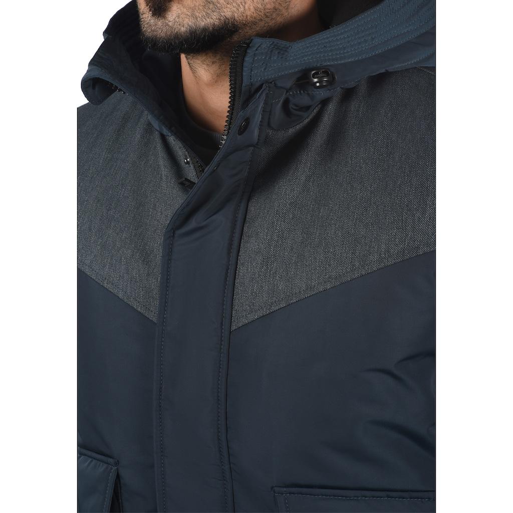 Solid Kurzjacke »Inacio«, Winterjacke mit hochabschließendem Kragen