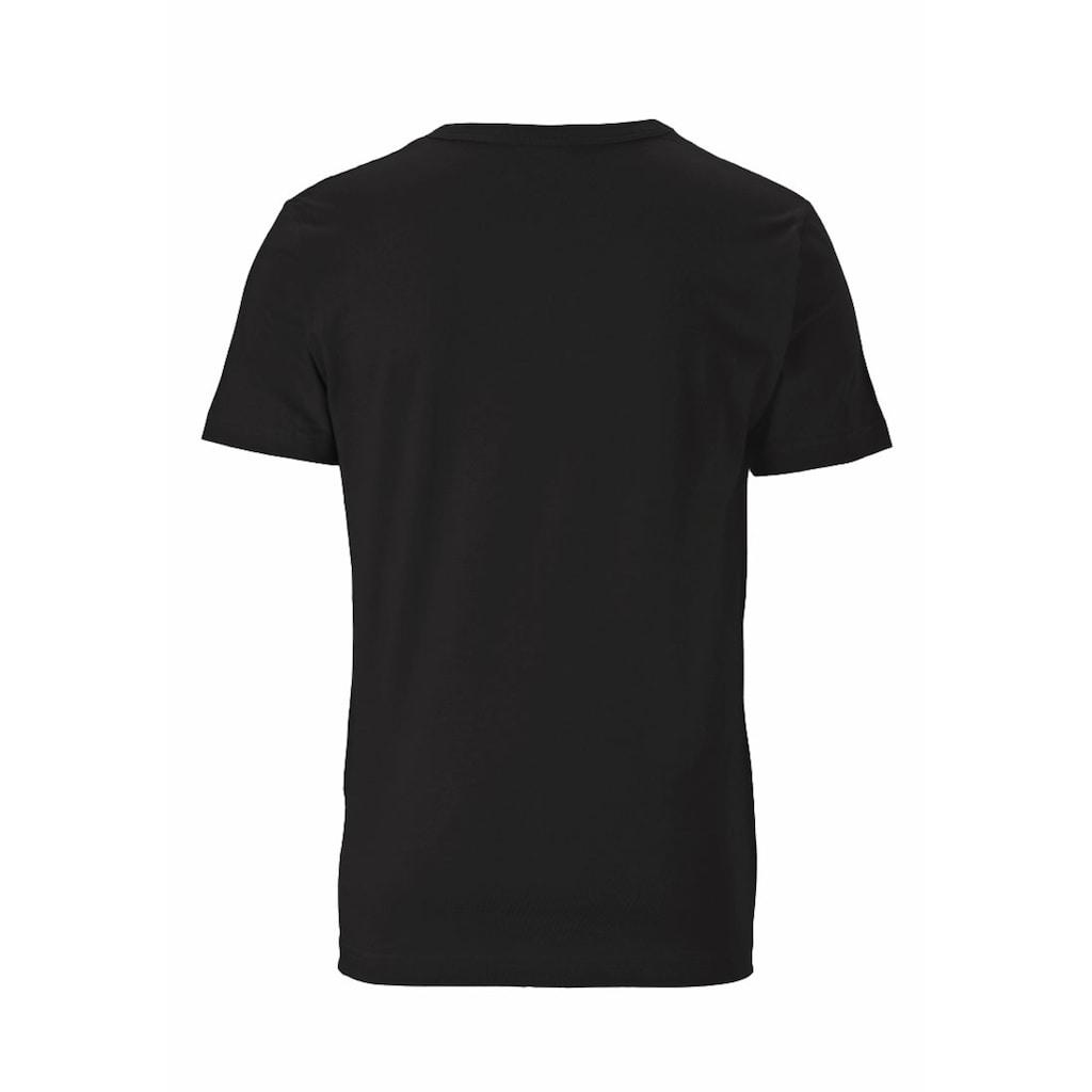 LOGOSHIRT T-Shirt mit Spiderman und Iron Man-Druck