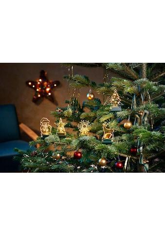 BONETTI LED Dekofigur »Acryl-Weihnachtsmotive«, Warmweiß kaufen