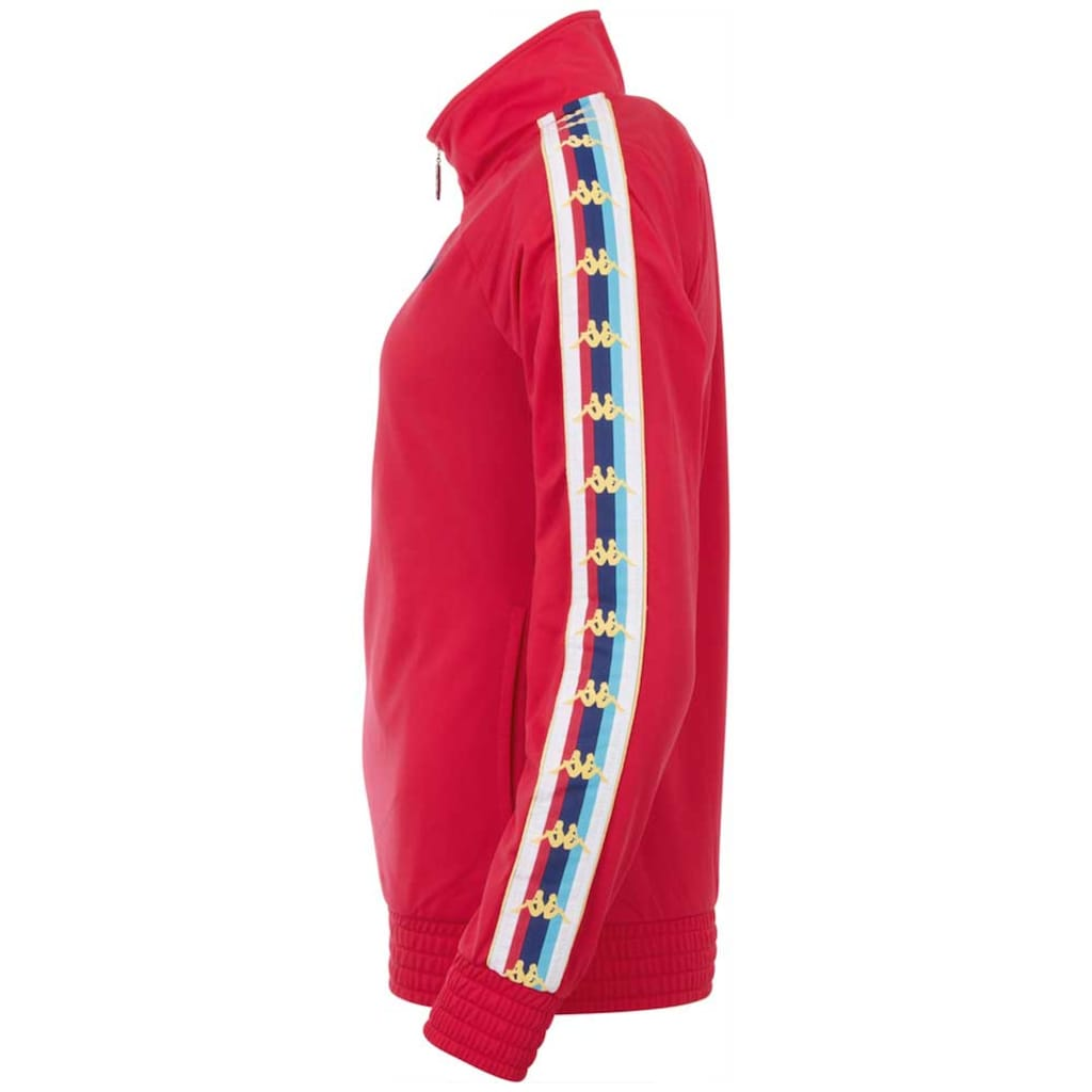 Kappa Trainingsjacke »AUTHETNIC VALMIRA«, mit mehrfarbigem Logoband an den &Auml;rmeln<br />