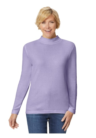 Classic Basics Shirt mit Stehkragen kaufen