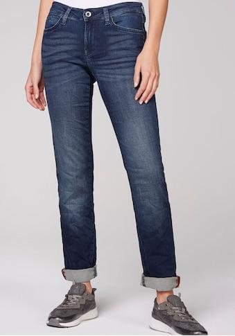 SOCCX Gerade Jeans, mit leichten Washed-Effekten kaufen