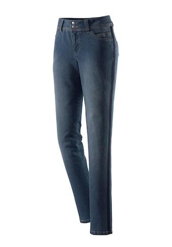 Jeans mit seitlichen Galonstreifen kaufen