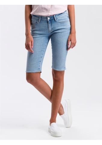 Cross Jeans® Bermudas »Amy«, Weicher Stretch-Denim kaufen