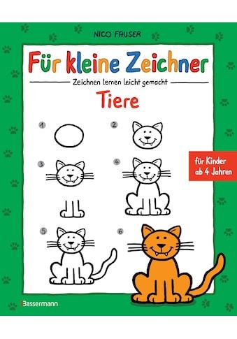 Buch »Für kleine Zeichner - Tiere / Nico Fauser« kaufen