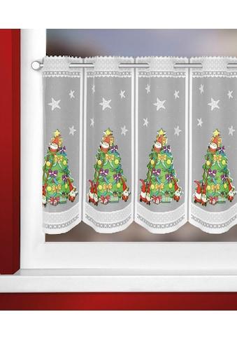 WILLKOMMEN ZUHAUSE by ALBANI GROUP Panneaux »Weihnachtsbaum«, Jacquard-Lamellenpannaux, thermobedruckt kaufen