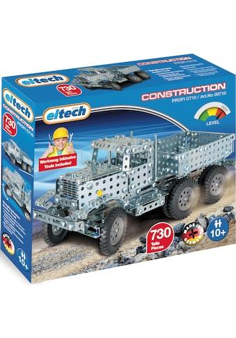 """Eitech Metallbaukasten """"Großer Truck"""", Bandstahl, (730 - tlg.) kaufen"""