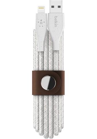Belkin Stromkabel »DuraTek Plus Lightning/USB-A Kabel, 3 m«, Lightning, USB Typ A, 300... kaufen