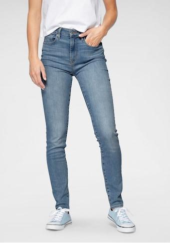 Levi's® Skinny-fit-Jeans »721 High rise skinny«, mit hohem Bund kaufen