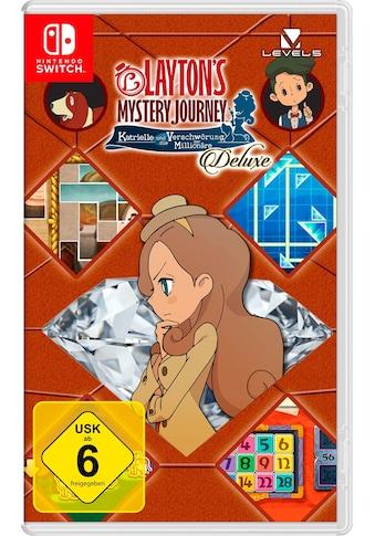 Nintendo Switch Spiel »Layton's Mystery Journey: Katrielle und die Verschwörung der... kaufen