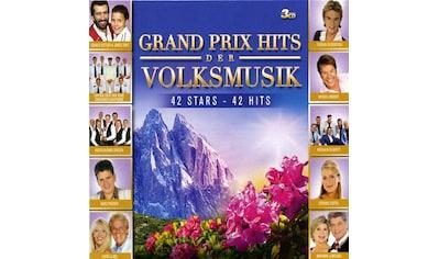 Musik-CD »GRAND PRIX HITS DER VOLKSM / Diverse Volksmusik/Schlage« kaufen