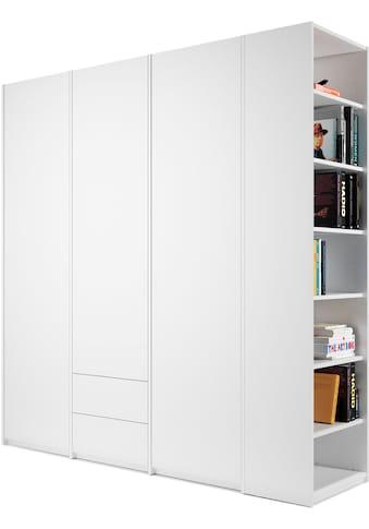 Müller SMALL LIVING Kleiderschrank »Modular Plus Variante 3«, inklusive 2 geräumigen Schubladen, Anbauregal wahlweise links oder rechts montierbar kaufen
