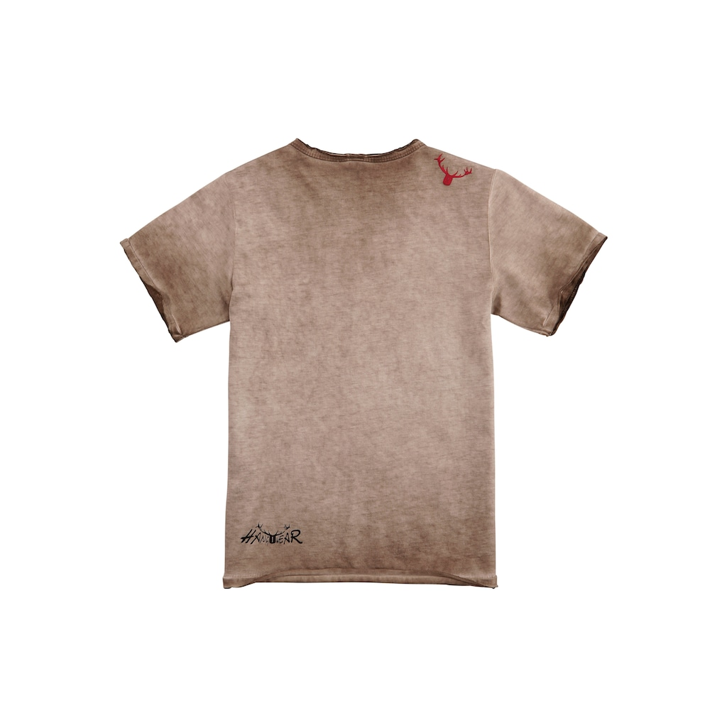 Hangowear Trachtenshirt, Kinder im Used Look