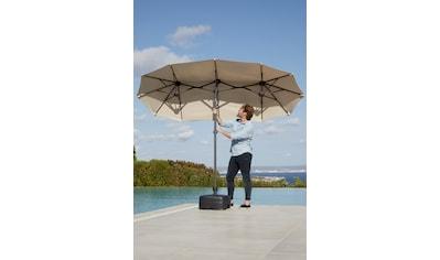 KMP Sonnenschirm »Malaga«, Inkl. Schutzhülle, ohne Schirmständer kaufen