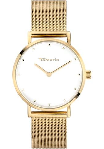 Tamaris Quarzuhr »Anda gold blue, TW001« kaufen