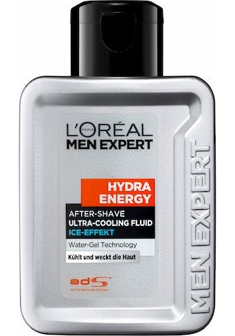 L'ORÉAL PARIS MEN EXPERT After-Shave »Hydra Energy Fluid Ice Effect«, kühlt & weckt die Haut kaufen