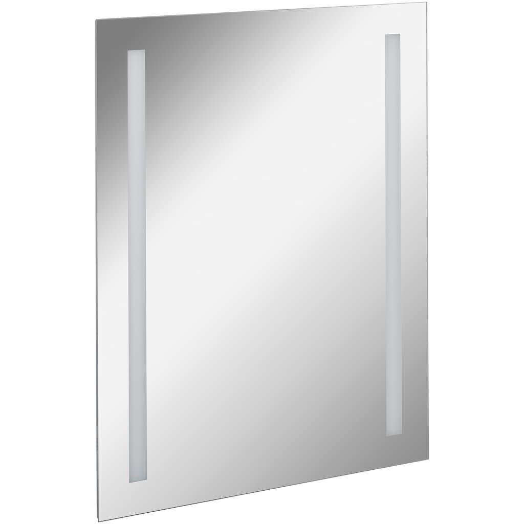 FACKELMANN Spiegelelement »Linear«, Breite 60 cm, mit Ambientelicht