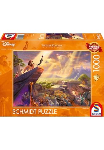 Schmidt Spiele Puzzle »Disney, König der Löwen«, Thomas Kinkade; Made in Europe kaufen