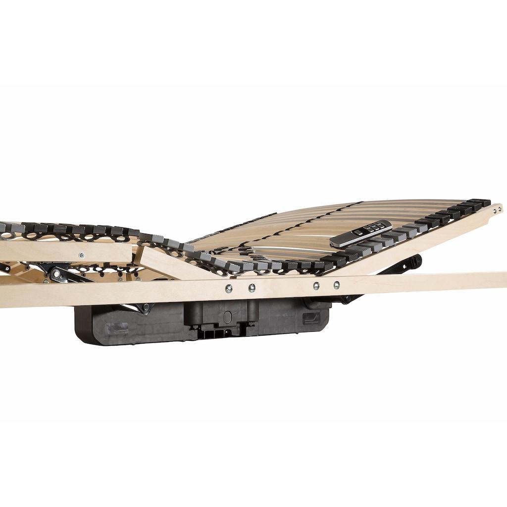 BeCo EXCLUSIV Lattenrost »Flex Motor Funk«, 42 Leisten, Kopfteil motorisch verstellbar, elektrischer Höhenverstellung
