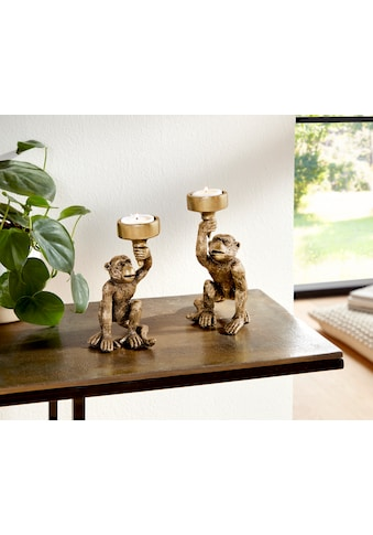 Leonique Kerzenhalter »Monkey« (Set, 2 Stück) kaufen
