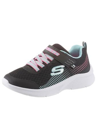 Skechers Kids Sneaker »Microspec«, mit praktischem Klettverschluss kaufen