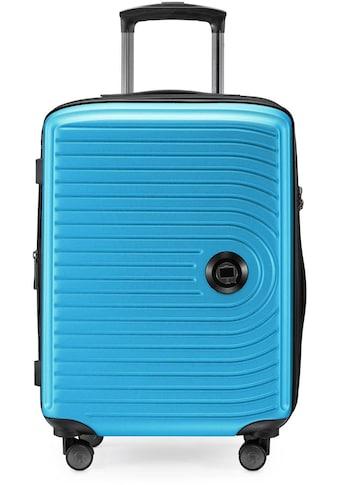 Hauptstadtkoffer Hartschalen-Trolley »Mitte, 55 cm, cyanblau«, 4 Rollen kaufen