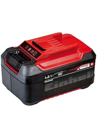 Einhell Akku »18 V 5,2 Ah Power X-Change Plus«, 18,0 V, Akku 5200 mAh (18,0 V, 1 St) kaufen