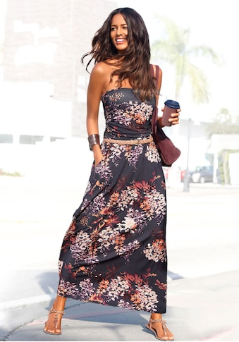 LASCANA Maxikleid, mit Floralprint kaufen